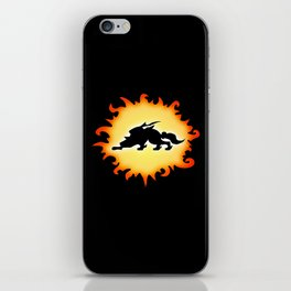 Amaterasu Logo- Black iPhone Skin