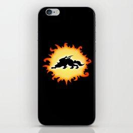 Amaterasu Logo- Black iPhone Skin