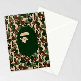 Hypebeast ape Camo Pattern Stationery Cards