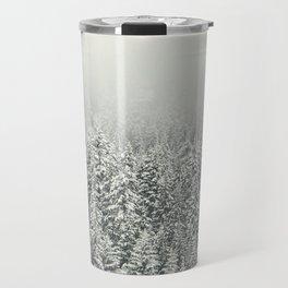 Snow Forest Travel Mug