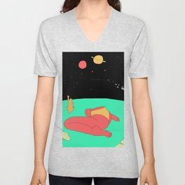 Space Bum Unisex V-Neck