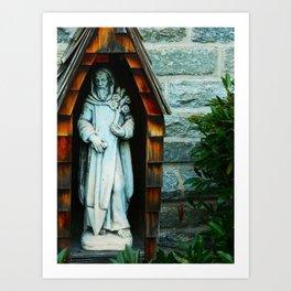 Saint Fiacre Art Print