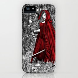 Silent Warrior by Tierra Jackson iPhone Case