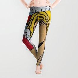 roy lichtenstein  Leggings