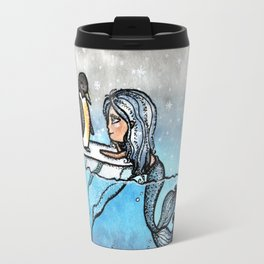 Antarctic Mermaid Travel Mug