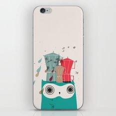 Owl Aloud iPhone & iPod Skin