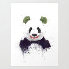 Jokerface Art Print