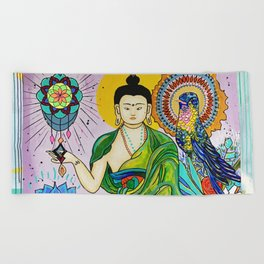 Buddha Freedom Nirvana Beach Towel