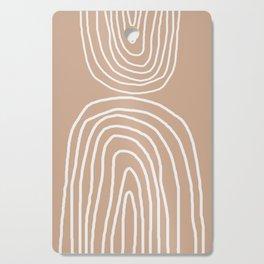 Abstract Rainbow, Cutting Board