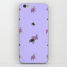 Spiderflower iPhone Skin