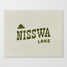 Nisswa Lake Canvas Print