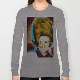 Young Dolly by Aaron Bir Long Sleeve T-shirt