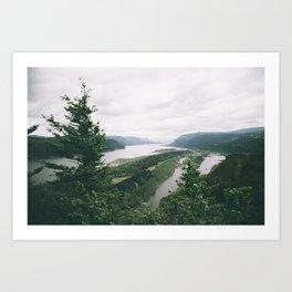 Columbia River Gorge VII Art Print
