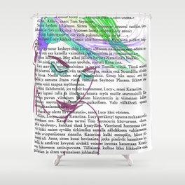 Parrot Hair Fashion Week Shower Curtain