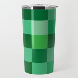 Squares of Luck Travel Mug