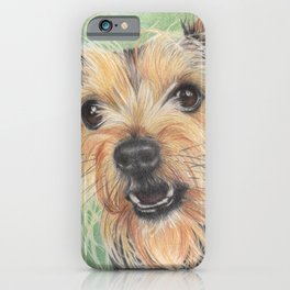 Yorkie, Yorkshire, Dog iPhone Case