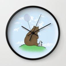 Cloudy the Bear Wall Clock