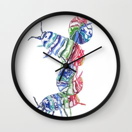 Roly Poly Wall Clock