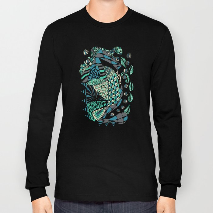 The wind that rocks the leaves Long Sleeve T-shirt
