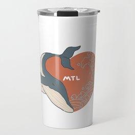Beloved whale. Travel Mug