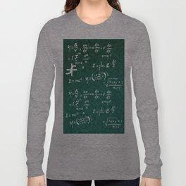 Math Equations Long Sleeve T-shirt