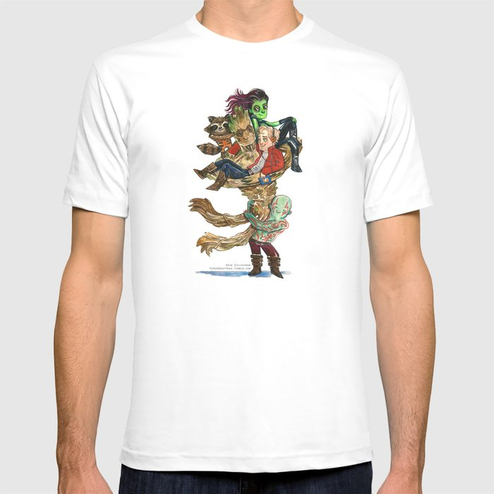 Guardians of the Galaxy Hug T-shirt