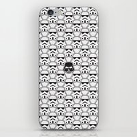 chad wys iPhone & iPod Skins featuring The Dark One by Davies Babies