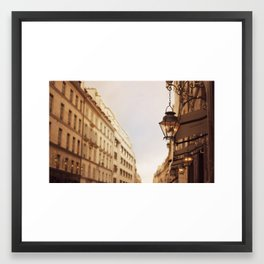 Paris Street Framed Art Print