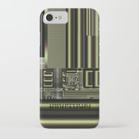industrial iPhone & iPod Cases featuring Industrial by inkedsandra