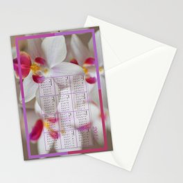 Calendar 2015 Orchids Stationery Cards