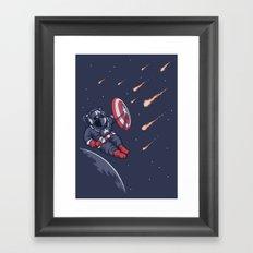 Heroic Time! Framed Art Print
