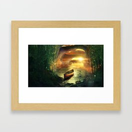 Precious Treasure Framed Art Print