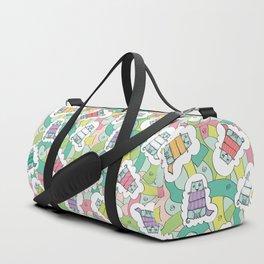 Siberian Cat #2 Duffle Bag