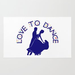 Love to dance Rug
