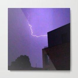 Thunderstorm snap Metal Print