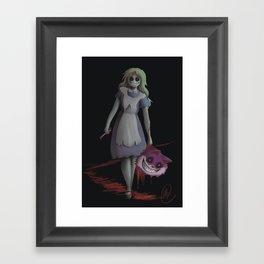 Bad Alice Framed Art Print