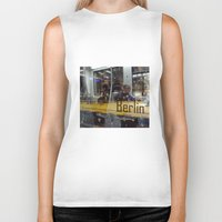 berlin Biker Tanks featuring Berlin by Queeniehigh