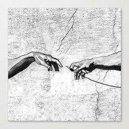 Creation of AUX Canvas Print