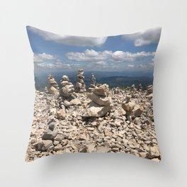 Stacked stones Throw Pillow
