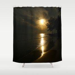 A Beautiful Evening Shower Curtain