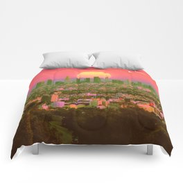 Sunset Crush Comforters