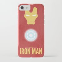 iron man iPhone & iPod Cases featuring Iron Man by Steal This Art