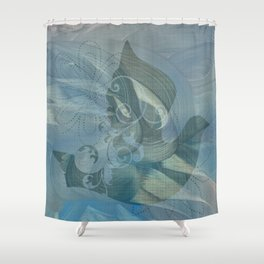 Rambha Shower Curtain