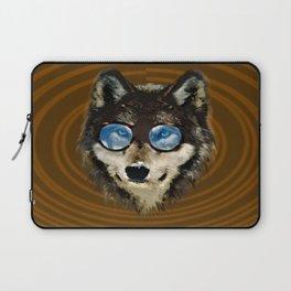 Nerd Wolf Laptop Sleeve