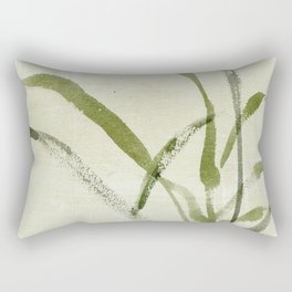 beach weeds Rectangular Pillow