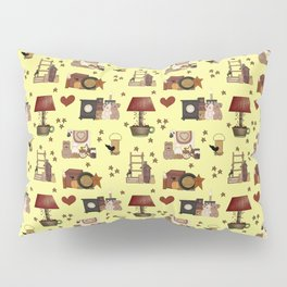 COUNTRY PRIMITIVE Pillow Sham