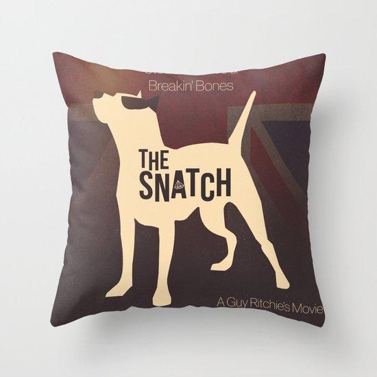 The Snatch - Stealin' Stones & Breakin' Bones Throw Pillow