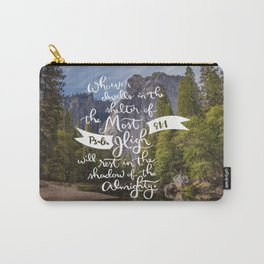 Psalm 91 with Background Carry-All Pouch