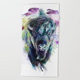 Bison Beach Towel