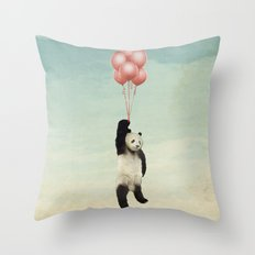 pandaloons Throw Pillow
